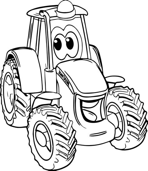 coloring pages tractor tom coloring pictures of tractor trailers new smile john deere