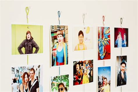 creative ways to display photos without frames save a wall hang a poster 20 ideas for alternative