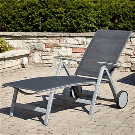 costco chaise lounge outdoor briza folding chaise lounge