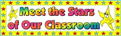 classroom banner template back to school teaching resources lesson plans and activities