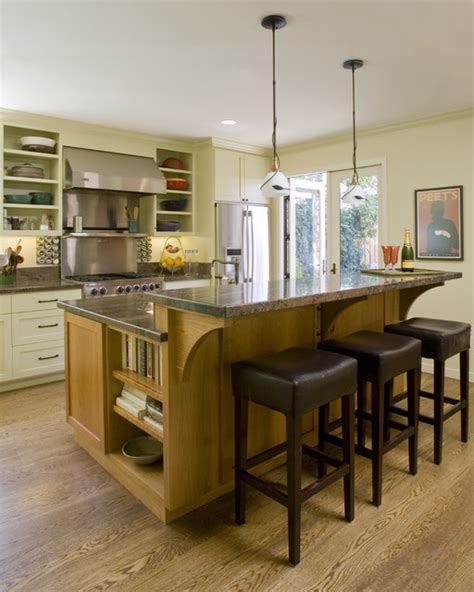 natural wood kitchen island traditional kitchen with natural wood island and white