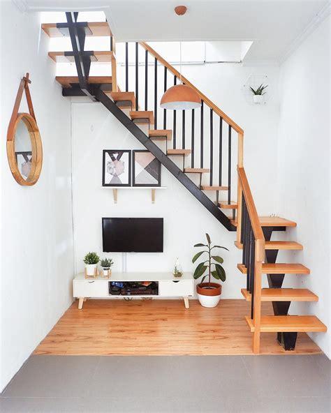 inspirasi desain tangga rumah minimalis   trend