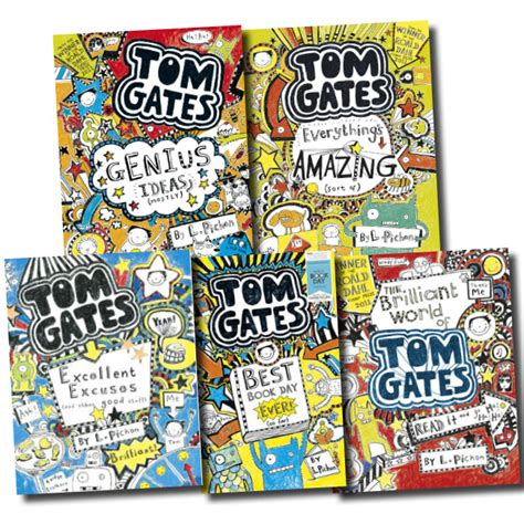 the two gates books tom gates collection liz pichon 5 books set pack genius