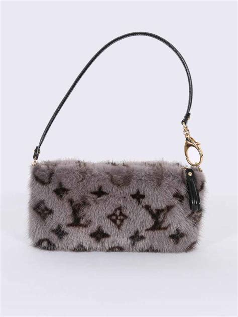 louis vuitton milla mm vision monogram mink grey