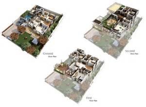 Pool House Plans With Bedroom Floor Plan Amrit Homes Pvt Ltd Pebble Bay Dream