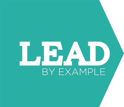 lead by exle about us pinterest