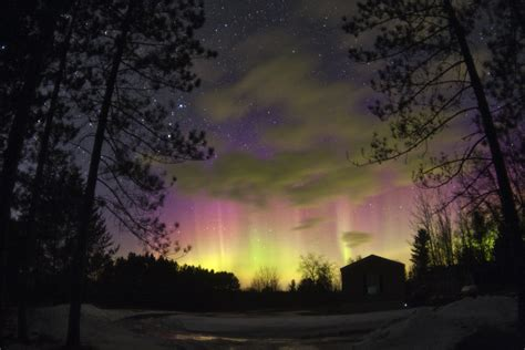 When Do The Northern Lights Appear weekend northern lights appear above several states bruce sussman 183 portland weather
