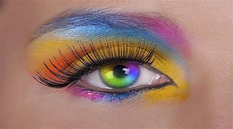 rainbow colored contacts contact lenses