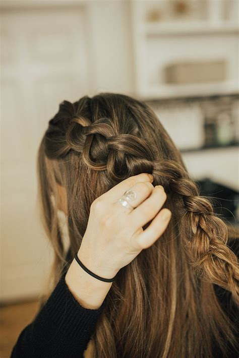 tie back hairstyles 17 best ideas about hairstyle tutorials on pinterest