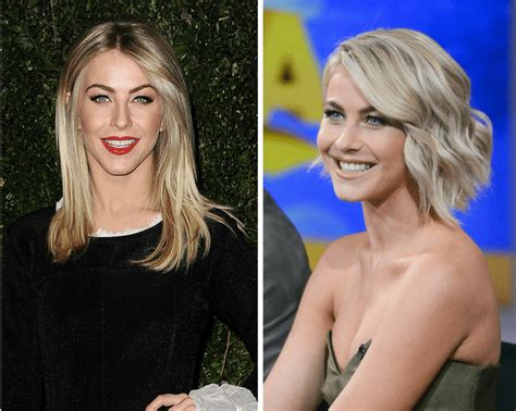what face shape is julianne hough the best short haircuts by face shape
