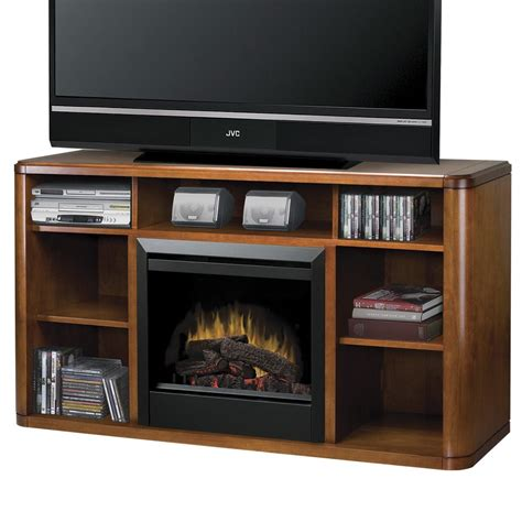 Dimplex Media Console Fireplaces Logan Media Console Media Fireplace Console