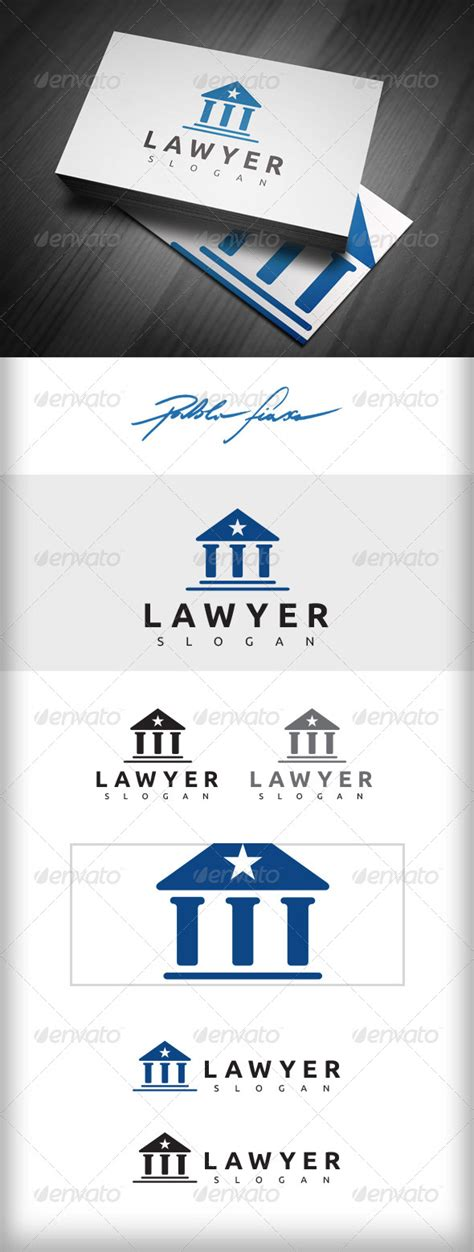 lawyer logo fonts lawyer logo attorney logo solicitor logo graphicriver