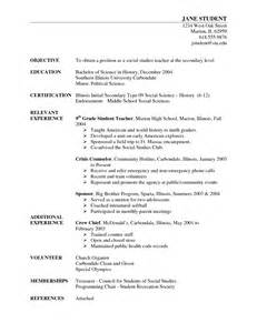 Sle Resume For Biology Major by Social Science Resume Sales Lewesmr