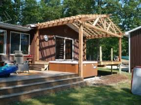 Gabled Pergola by Northwest Indiana Arbors Pergolas And Gazebo Builder