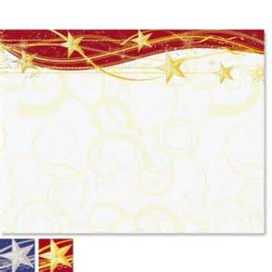 Tropical Themes For Parties - sparkling stars specialty certificates paperdirect