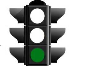 green light clip at clker vector clip