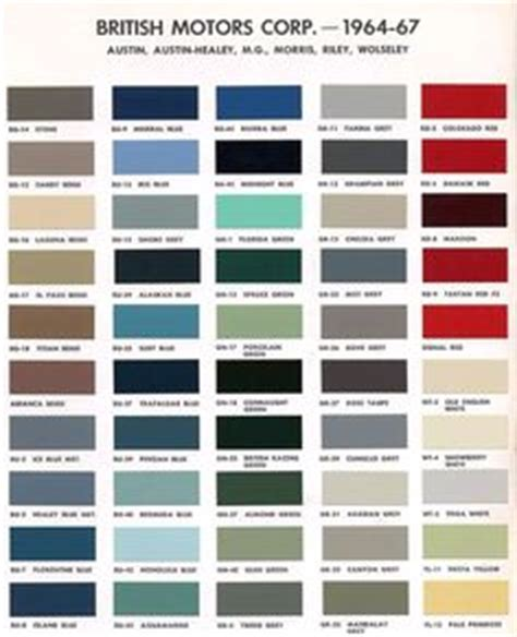 aston martin colour chart color codes on color charts color codes and