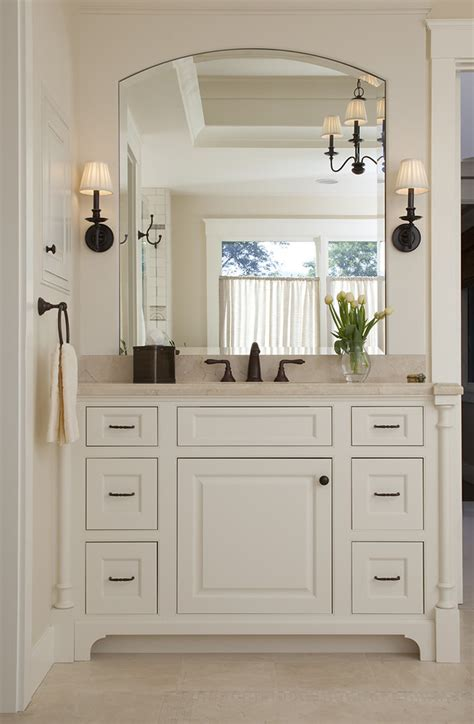 White Bathroom Lights by 48 Inch Bathroom Vanity Bathroom Traditional With