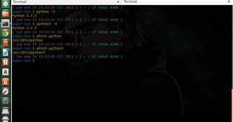 tutorial python en linux tutorial scripting python 3 3 desde unix tiempo de tux