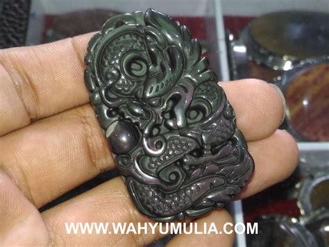 Liontin Mata Dewa Ukir Naga liontin batu mata dewa ukir naga kode 469 wahyu mulia