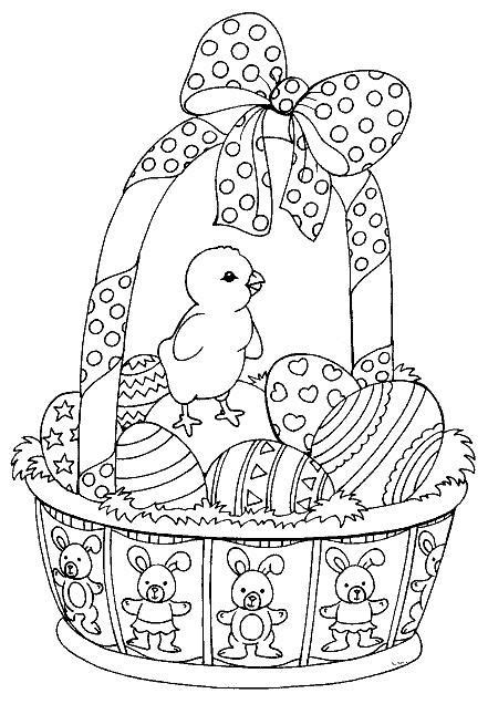 25 best ideas about easter coloring pages on