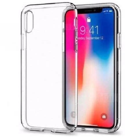 capa silicone iphone  xs transparente