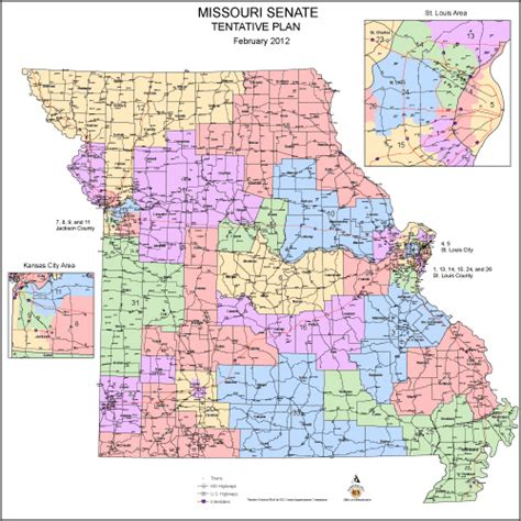 missouri district map commission approves new missouri state senate districts