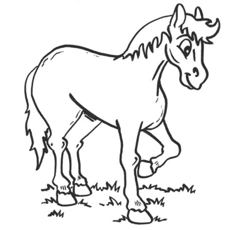 preschool coloring pages horses horse animal coloring pages for preschool printable to