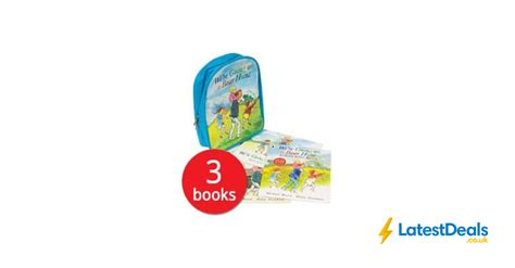 The Book Peoples Bargains by We Are Going On A Hunt Backpack And 3 Books 163 7 At