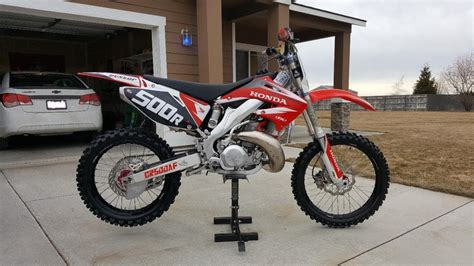 Sale Cr 2001 honda cr500 motorcycles for sale