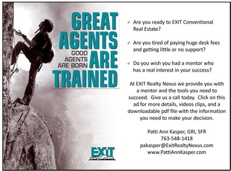 immobilienmakler gesucht careers with exit realty nexus are you ready to exit