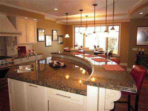 curved kitchen island best 25 curved kitchen island ideas on
