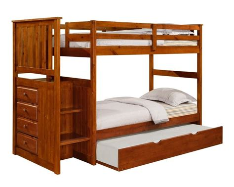 Bunk Bed Houston Solid Wood Oak Staircase Bunk Bed W Trundle Reversible Bunk Beds Houston Pinterest
