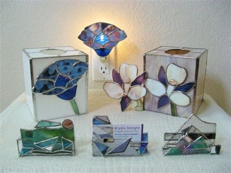 Home Handmade Decoration handmade tissue box and business card holders by krysia