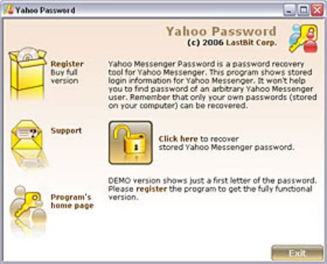 android reset yahoo password download yahoo messenger password cracker by radustudio
