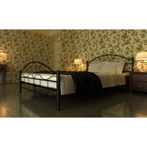 Bett Mit Lattenrost by Der Bett Doppelbett Mit Lattenrost 187x207 Cm Schwarz