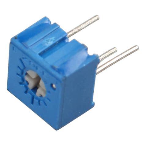 precision variable resistors 3362p 100rohm 1mohm high precision variable resistors blue free shipping dealextreme