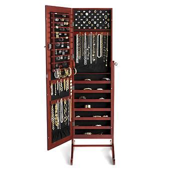 safekeeper jewelry armoire ross simons quot safekeeper quot mirror jewelry organizer 522418