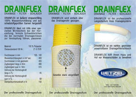drain pipe dn160 filter sleeve sock kit 50m wetzel