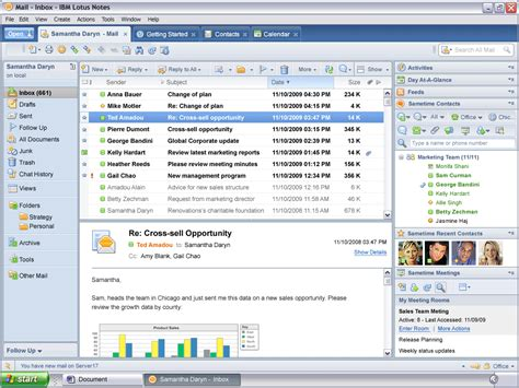 ibm lotus software lotus notes software informer screenshots