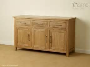 Natural Oak Sideboard Harold Solid Oak Natural Modern Furniture Sideboard Ebay