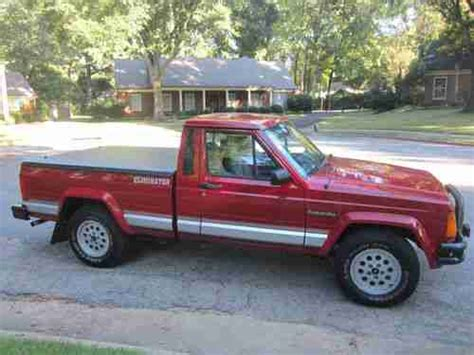 sell used 1990 jeep comanche eliminator in
