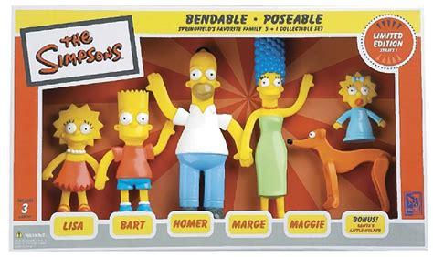 simpsons family bendable figures nj croce simpsons