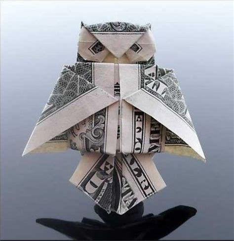Paper Owl Origami - animal dollar bill origami owl origami and papercraft