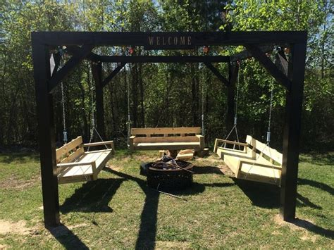 swing set for patio 20 fabulous diy patio and garden swings www fabartdiy