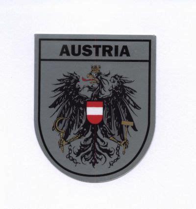 Aufkleber Wien Kaufen by 214 Sterreich Wappen Aufkleber Adler 214 Sterreich Souvenirs