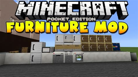 mod in minecraft ps4 furniture pocket edition mod mcpe mcpedownload
