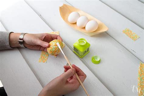 como hacer la pasta para decorar huevos de pascua huevos decorados de pascua paperblog