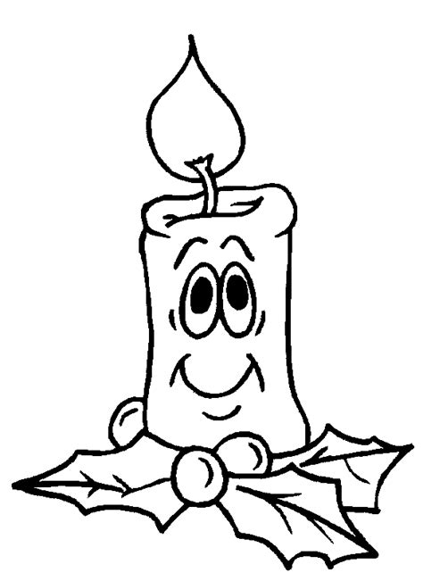 coloring page christmas candle coloring page christmas candle face coloring me