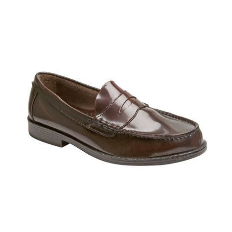 burgundy loafers for g h bass co walton loafers in purple for